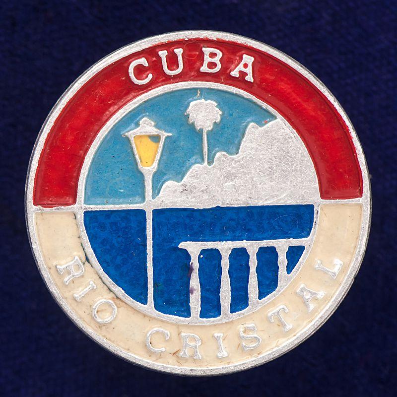 """Значок """"Куба. Рио-Кристал"""""""