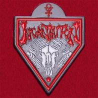 Значок культовой американской death-metal группы Incantation