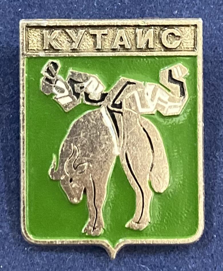 Значок Кутаис герб