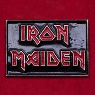 Значок легендарной хэви-метал группы Iron Maiden