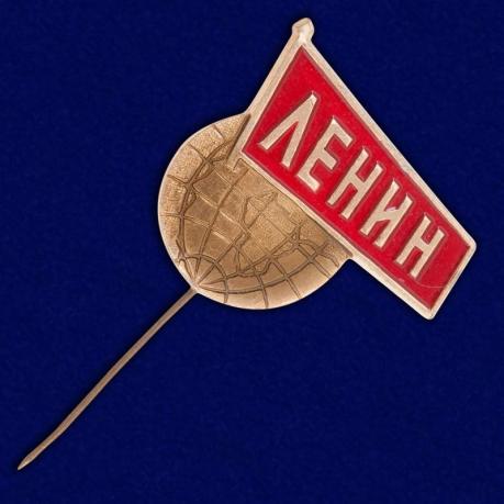 """Значок """"Ленин. Мир"""""""