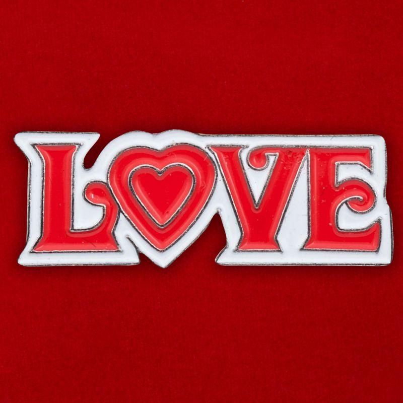 """Значок """"Love"""""""