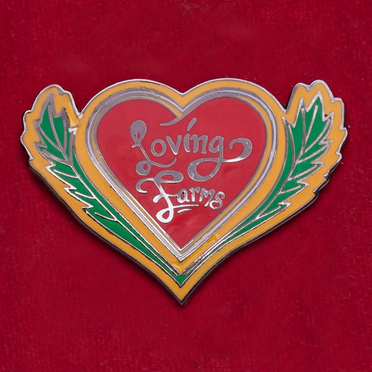 Значок магазина легальных смесей Loving Farms. Маунт-Вернон, США