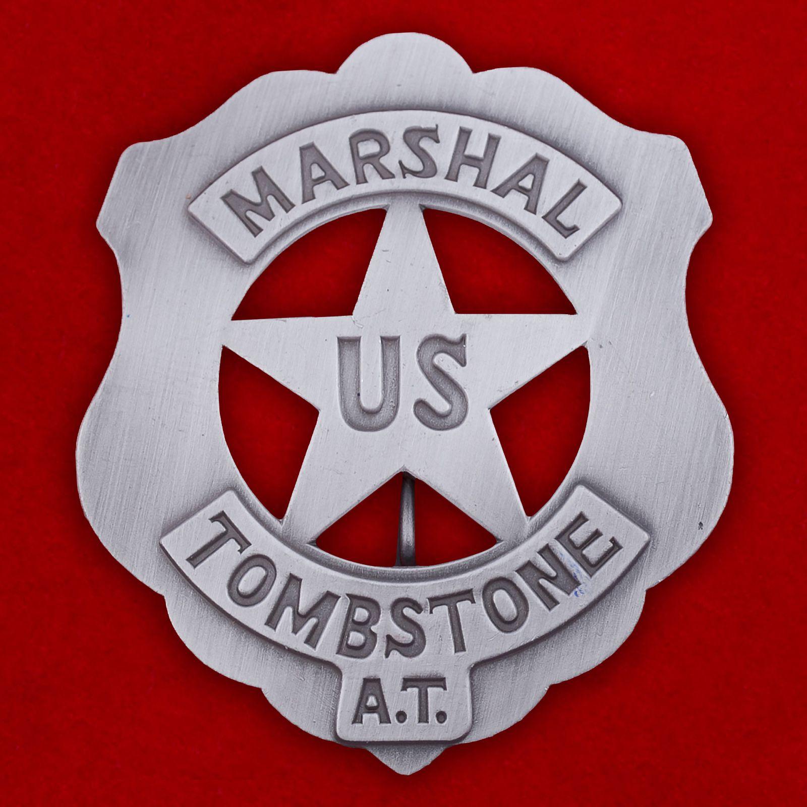 """Знак """"Marshal Tombstone US"""""""