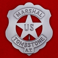 "Знак ""Marshal Tombstone US"""