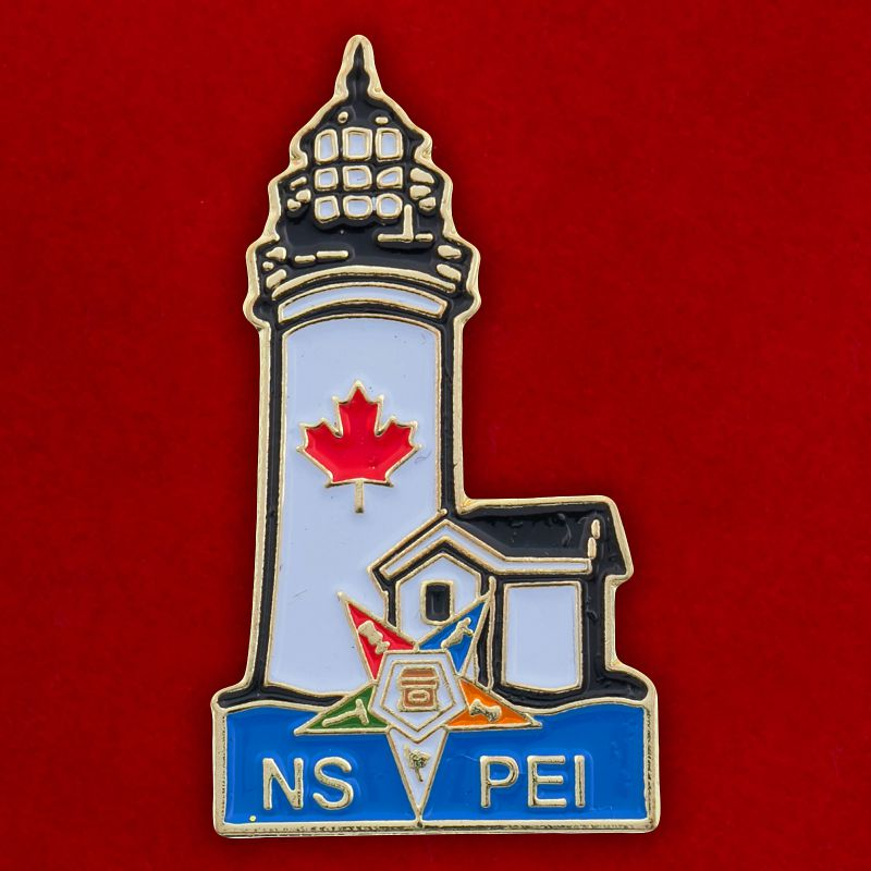 Значок масонов провинции Новая Шотландия, Канада