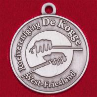 Значок-медальон гребного клуба Roeivereniging de Kogge, Западная Фрисландия, Нидерланды