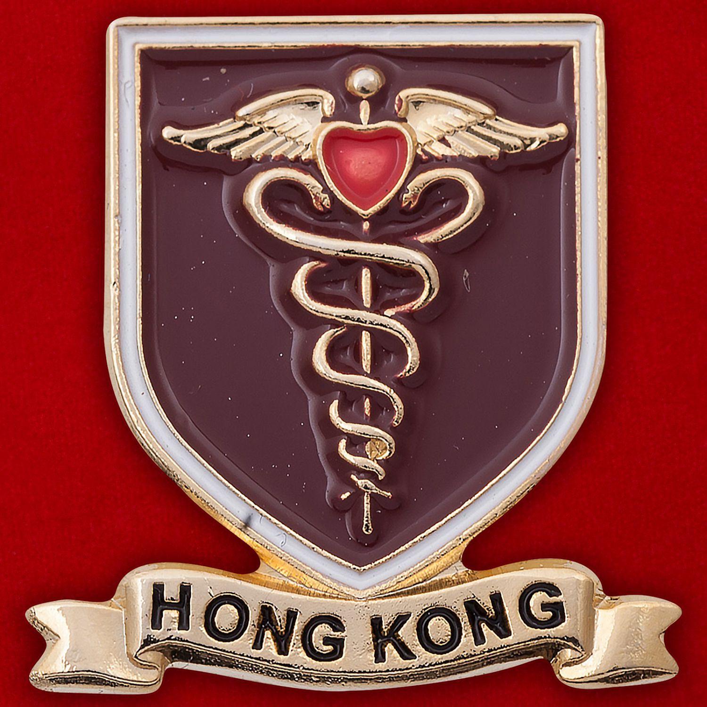 Значок медиков Гонконга