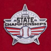 Значок молодежного чемпионата штата Вашингтон по бейсболу