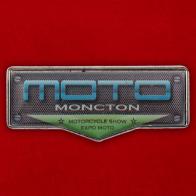 """Значок """"Moncton Motorcycle Show"""""""