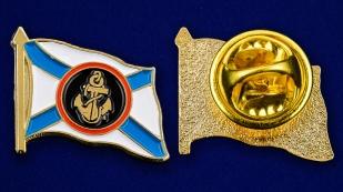 Значок Морской пехоты - аверс и реверс