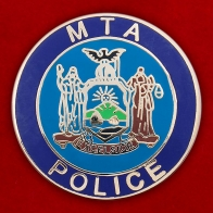 "Значок ""MTA POLICE"""