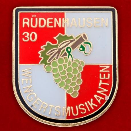 Значок музыкального фестиваля в Рюденхаузене