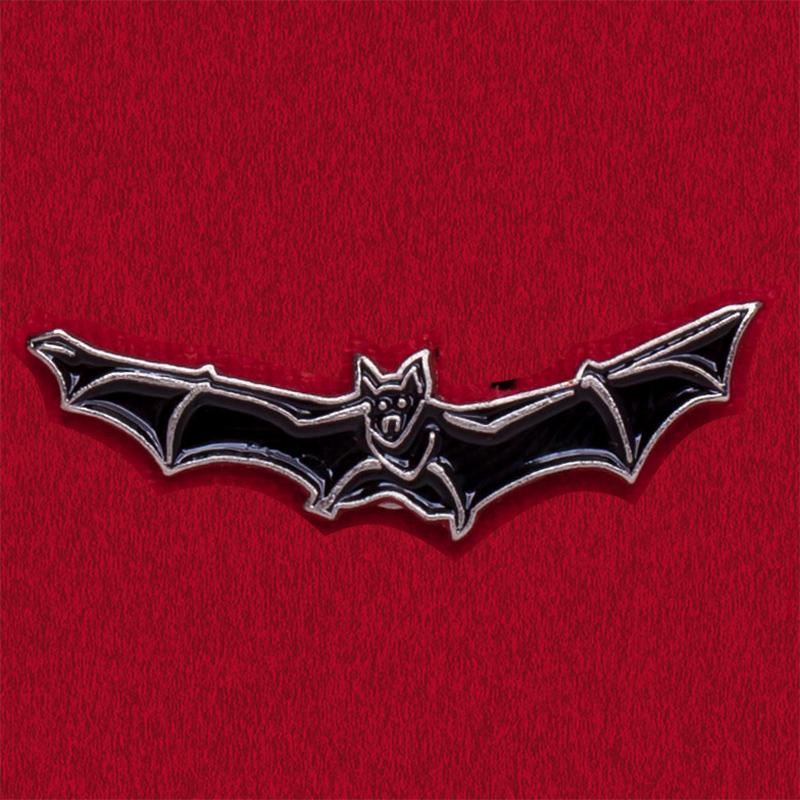 """Значок на Хеллоуин """"Летучая мышь"""""""