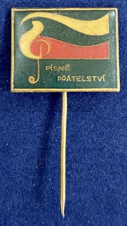Значок на иголке Pisne Pratelstvi