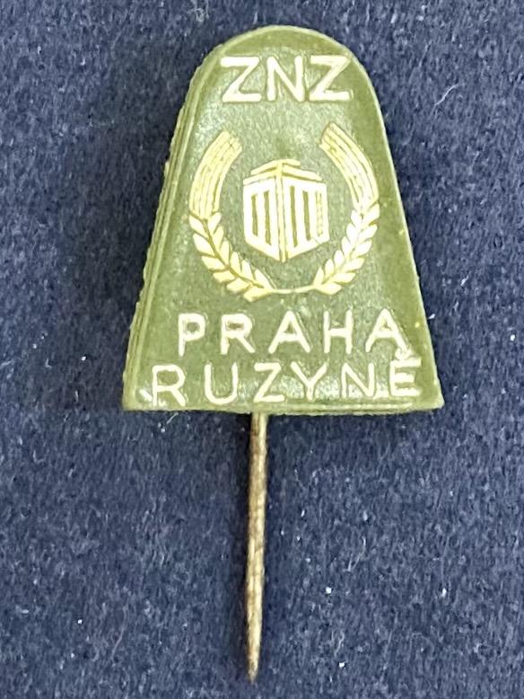Значок на иголке Praha Ruzyne