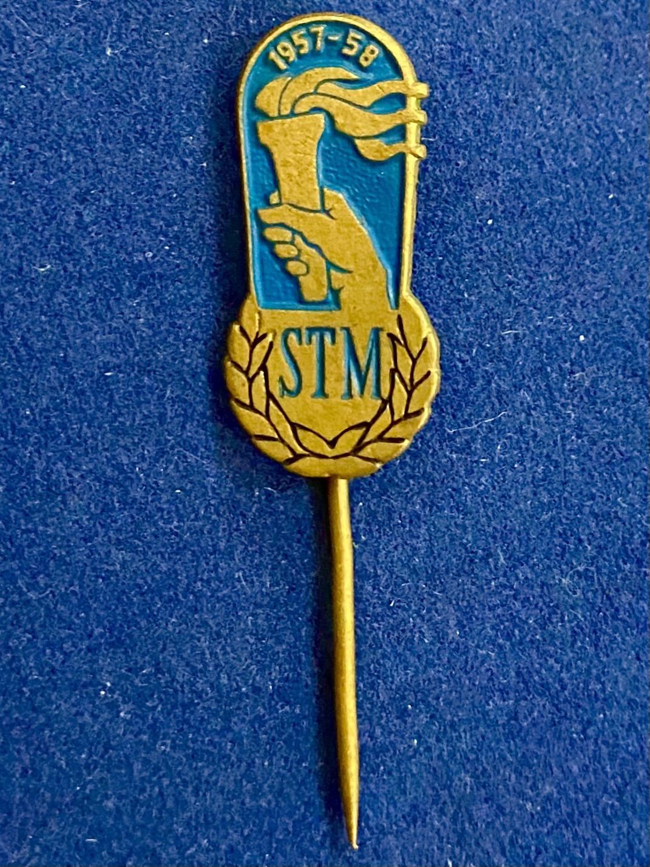 Значок на иголке STM 1957-58