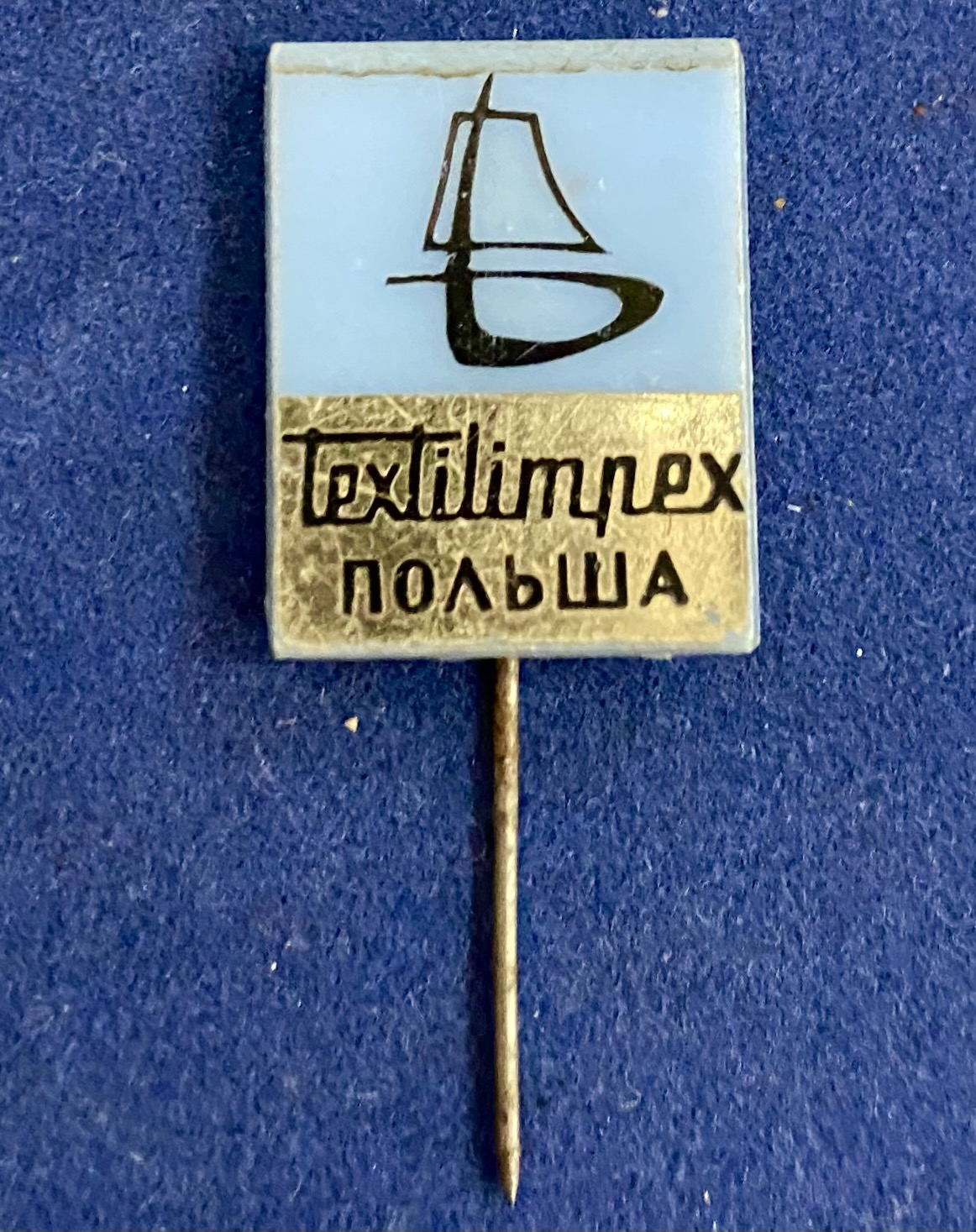 Значок на иголке Textilimpex Польша