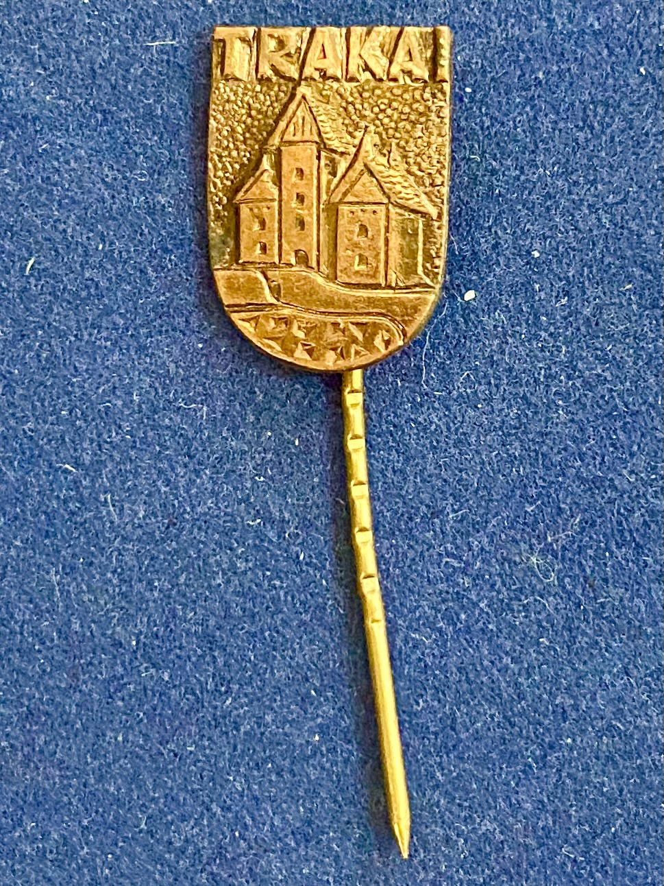 Значок на иголке Тракай Литва