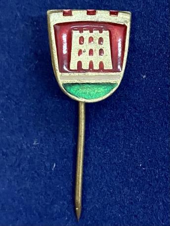 Значок на иголке Вильнюс с башней Гедиминаса