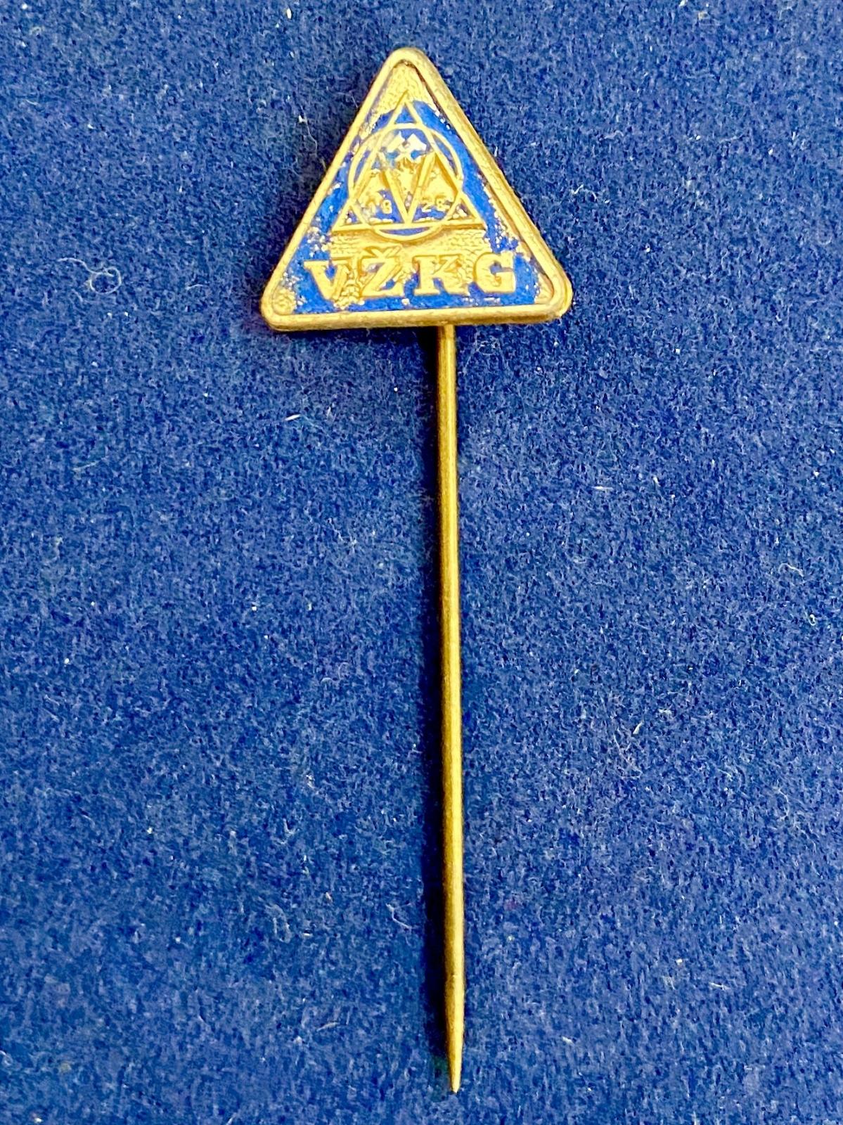 Значок на иголке VZKC