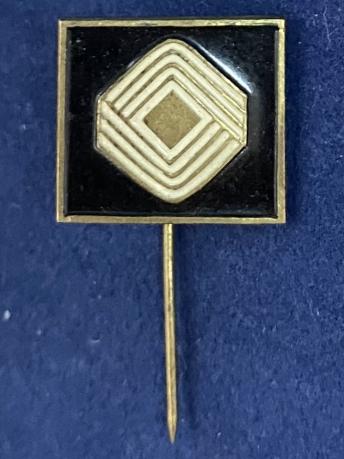 Значок на иголке Золотой Ромб