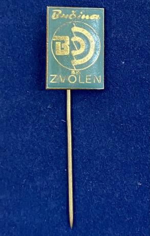 Значок на иголке Зволен Словакия