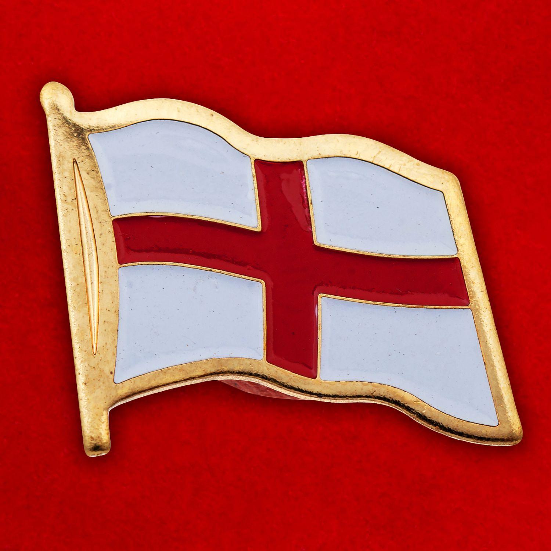 """Значок """"Национальный флаг Англии"""""""