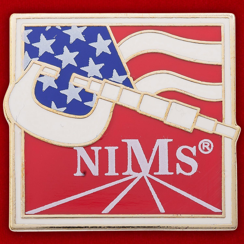 """Значок """"Национальный институт металлургии США"""""""
