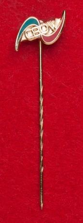 """Значок некоммерческой организации """"Книги - детям"""" CBOW, Техас, США"""