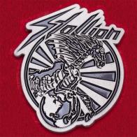 Значок немецкой хэви-метал группы Stallion