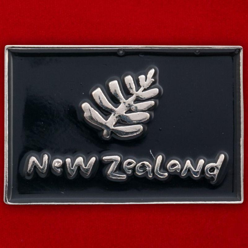 """Значок """"New Zealand"""""""