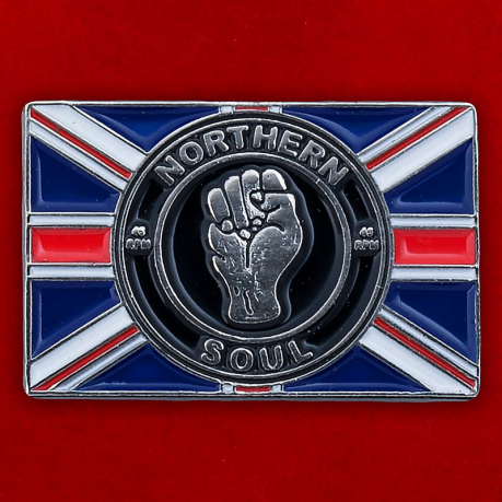 "Значок ""Northern Soul Union Jack"""