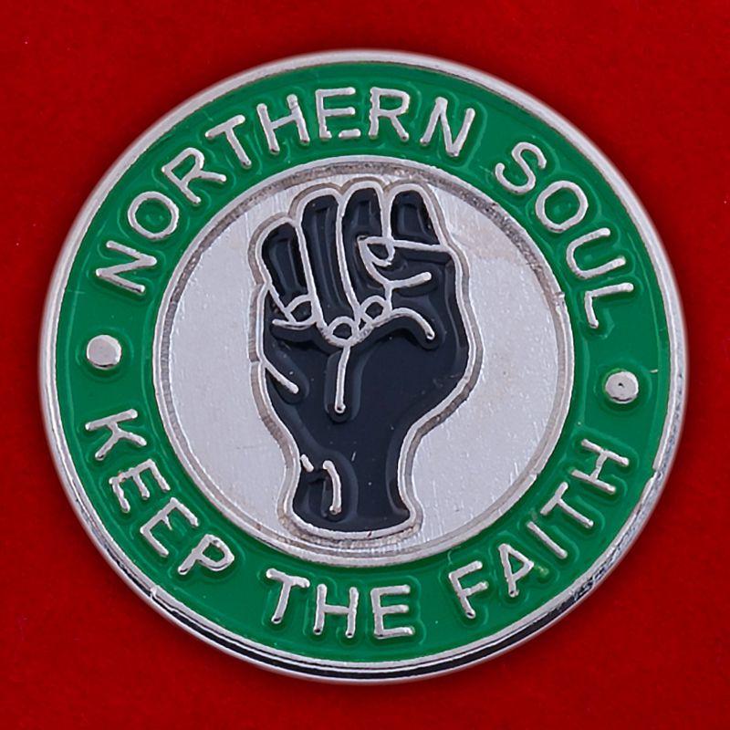 "Значок ""Northern Soul"""