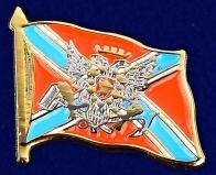 """Значок """"Флаг Новороссии с гербом"""""""