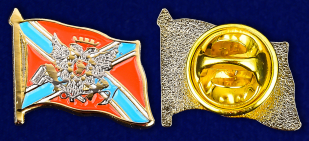 Значок Новороссии - аверс и реверс