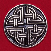 """Значок-оберег """"Кельтский узел"""""""