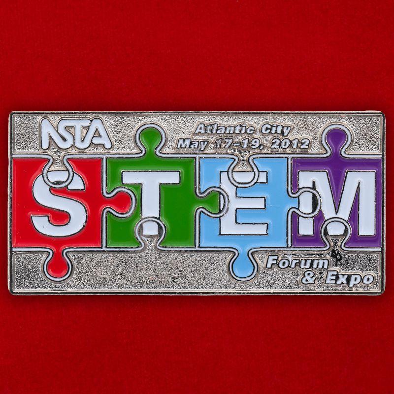 Значок Образовательного объединения STEM