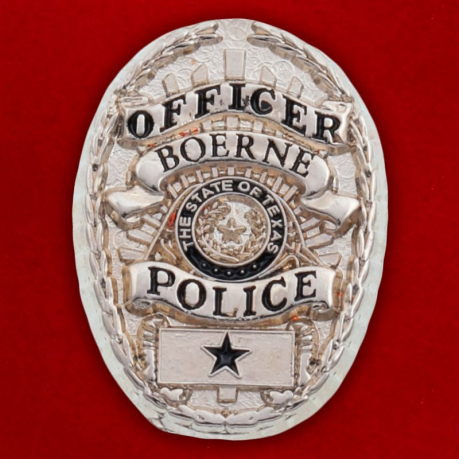 "Значок ""Officer Police Boerne"""