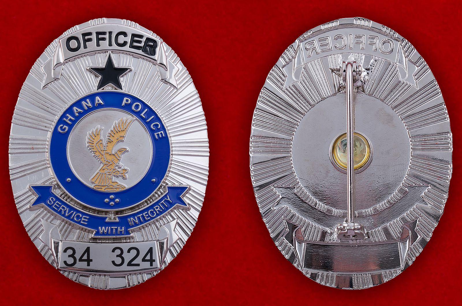 Значок офицера полиции Ганы (34 324)