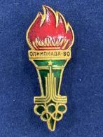 Значок Олимпиада-80 Факел