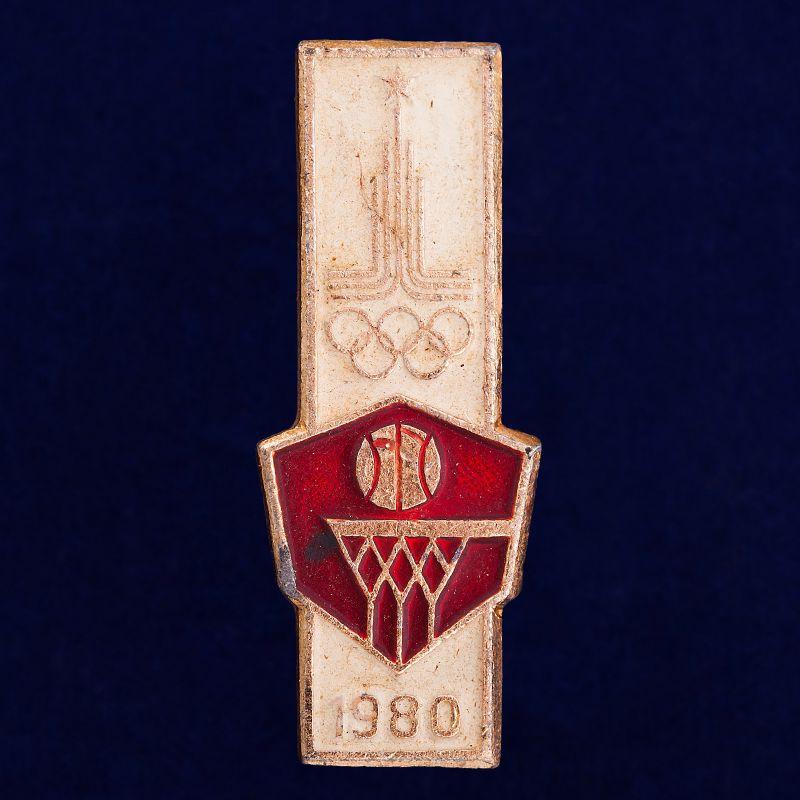 """Значок """"Олимпийский баскетбол"""""""