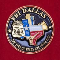 Значок отделения ФБР в Далласе