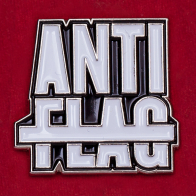Значок панк-рок группы Anti-Flag