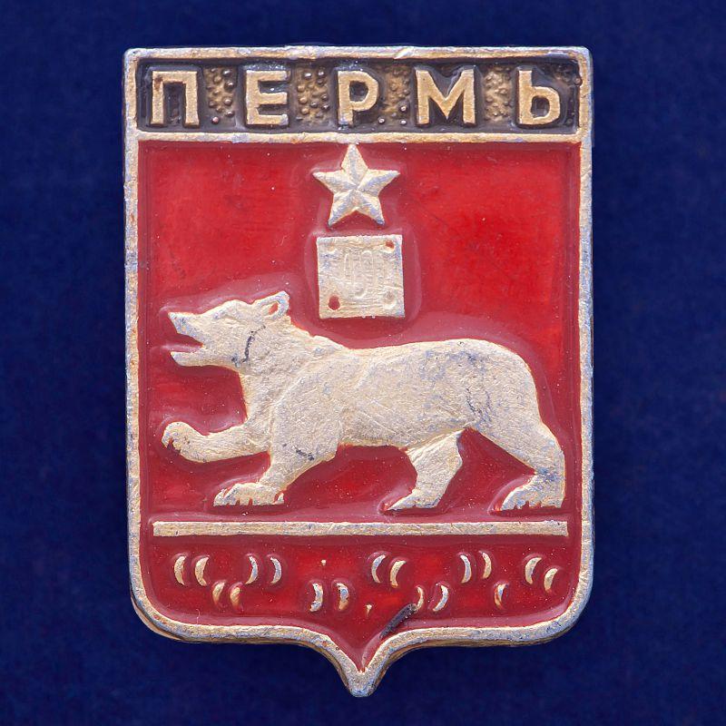 Значок Пермь
