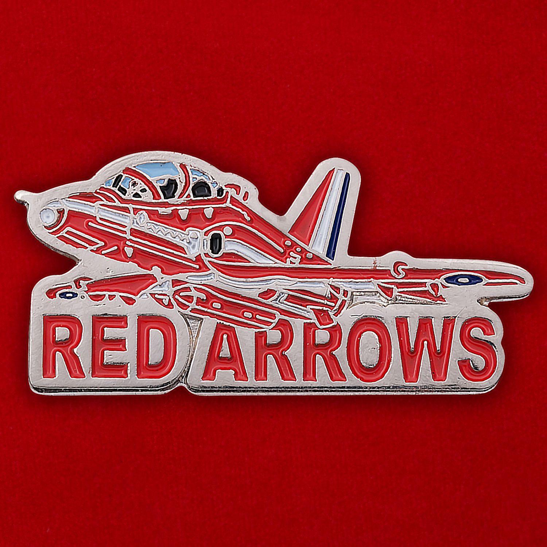 """Значок пилотажной группы """"Красные стрелы"""" (Великобритания)"""