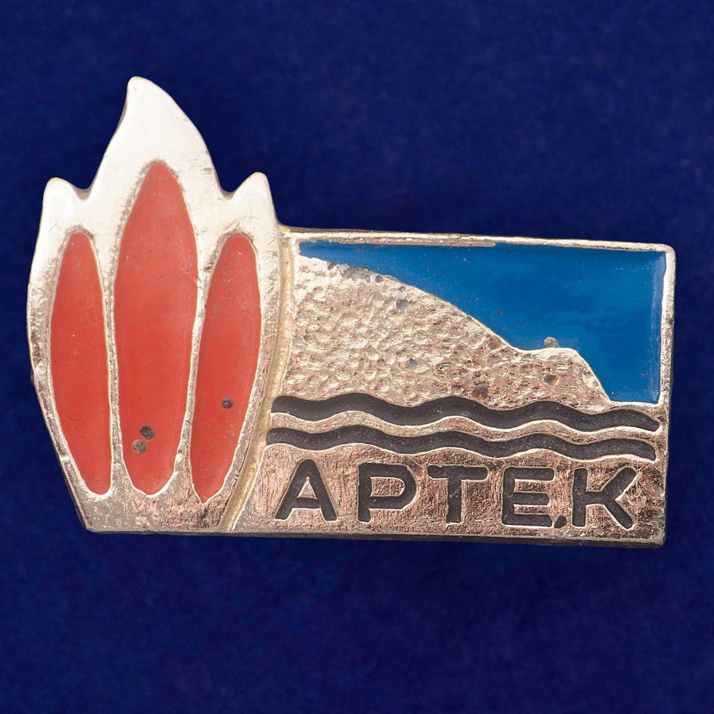 Значок Пионерский лагерь Артек