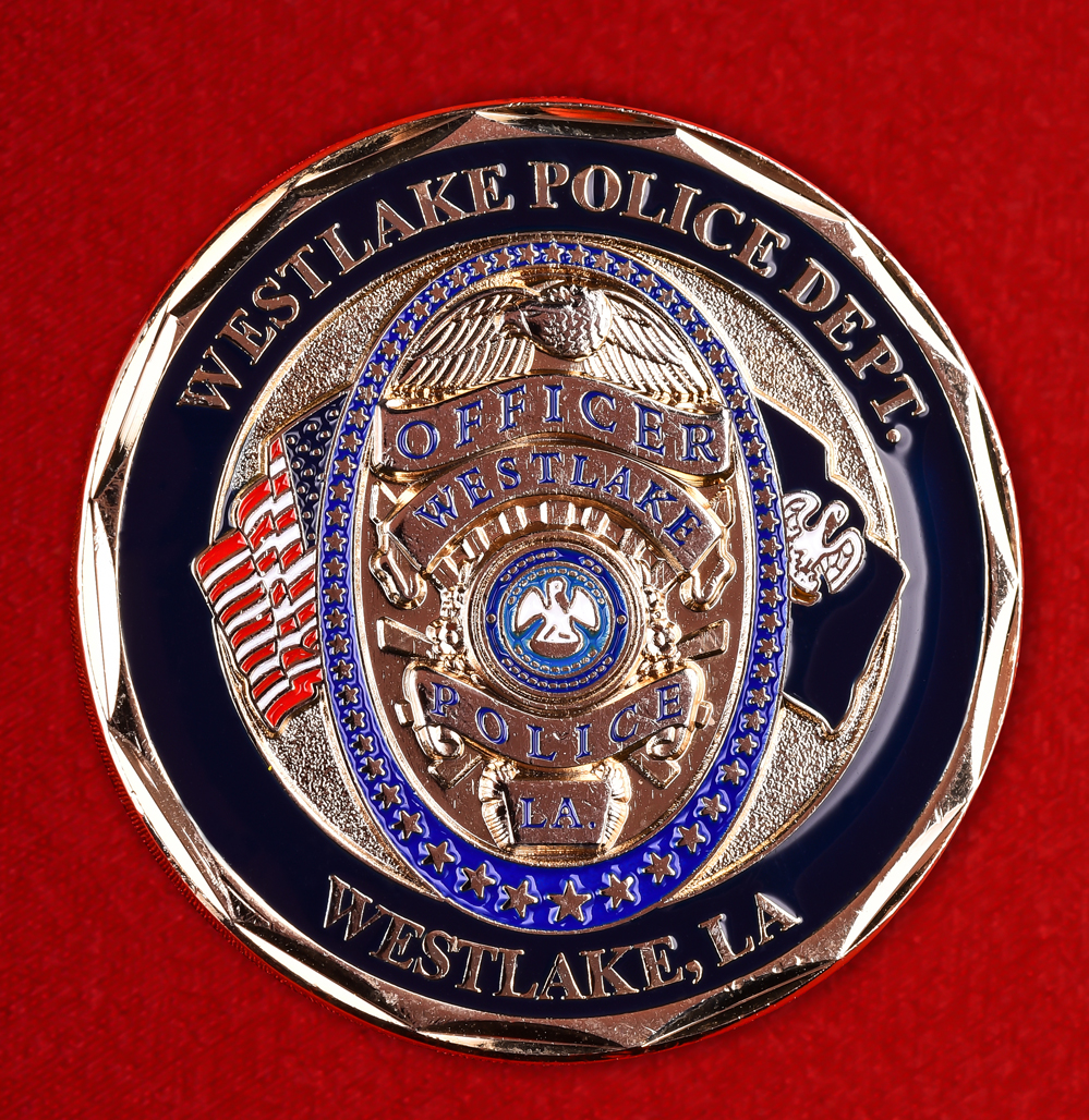 "Значок полиции США ""Департамент Вестлейка (Луизиана)"""