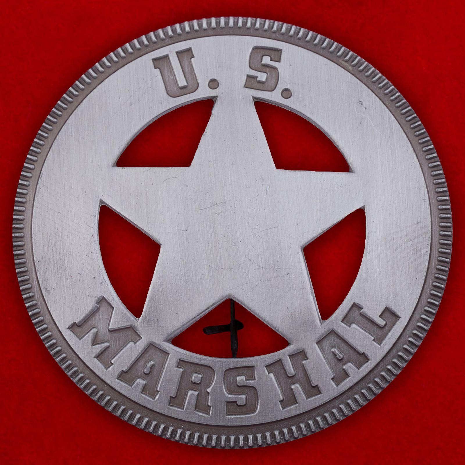 "Значок полиции США ""Маршал"""