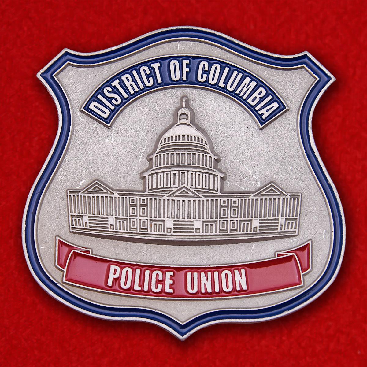 "Значок ""Полиция округа Колумбия"""